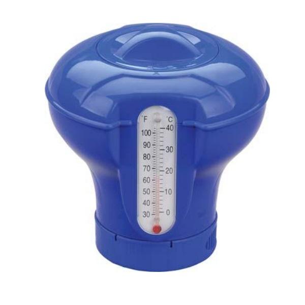 Dosatore galleggiante con termometro