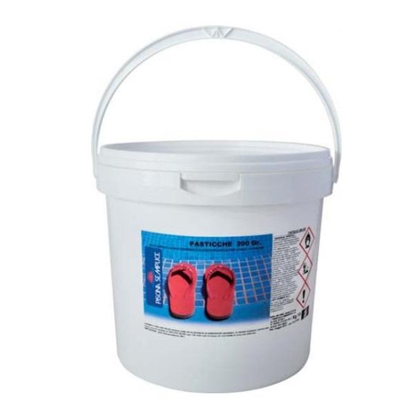 Ipoclorito di calcio per acqua piscine 20 pastiglie da 200 - Ipoclorito di calcio per piscine ...