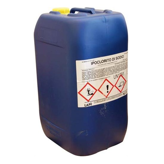 Ipoclorito di sodio tanica da 25 litri