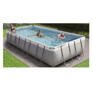 Piscina fuori terra pool spa 350 con filtro a for Arredo plast spa