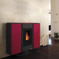 Termostufa Frida 17,3 Kw Bordeaux