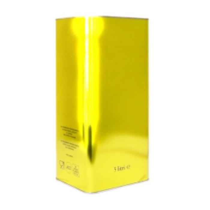 Lattina Oro Giallo anonimo 5 litri rettangolare