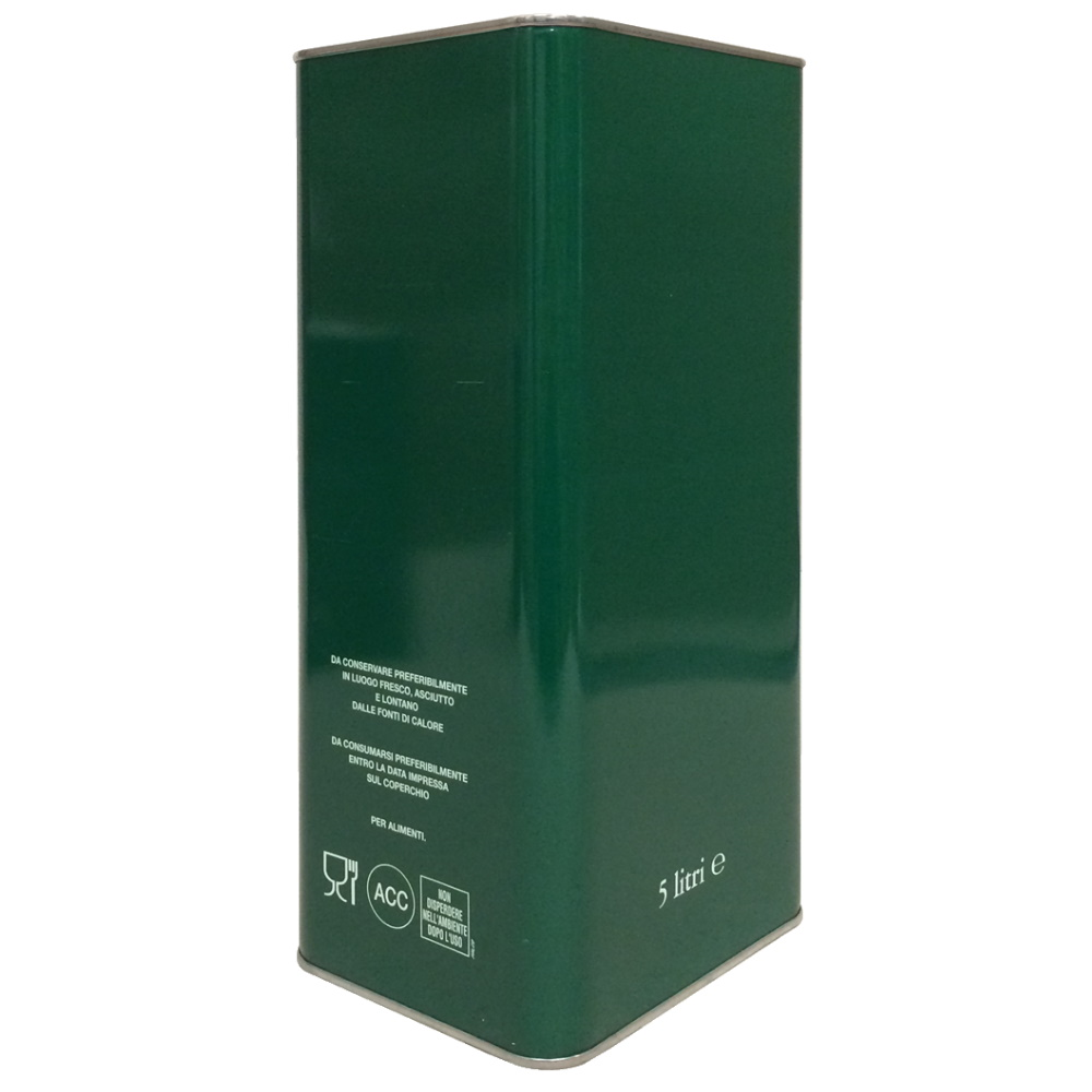 Lattina VERDE 5 litri