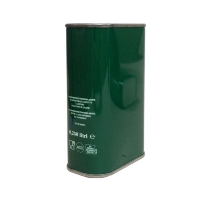 Lattina verde anonimo 500 ml rettangolare