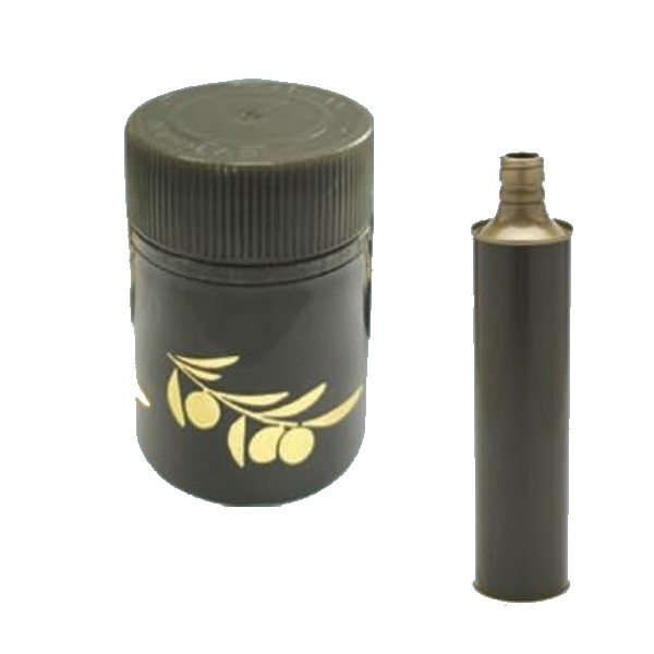 Lattina verde anonimo 750 ml cilindrica