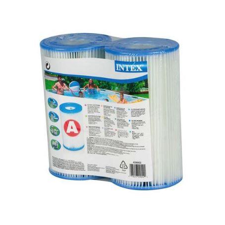 """INTEX 29002 Cartuccia filtro media modello """"a"""" confezione da due pezzi"""