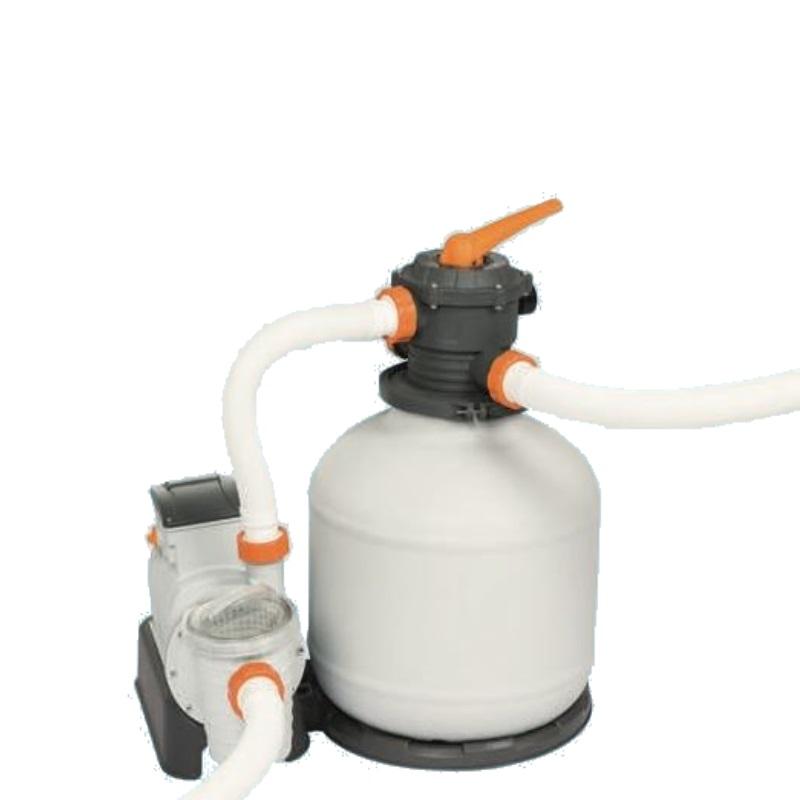 Cattura pompa filtro a sabbia per piscine bestway 58486