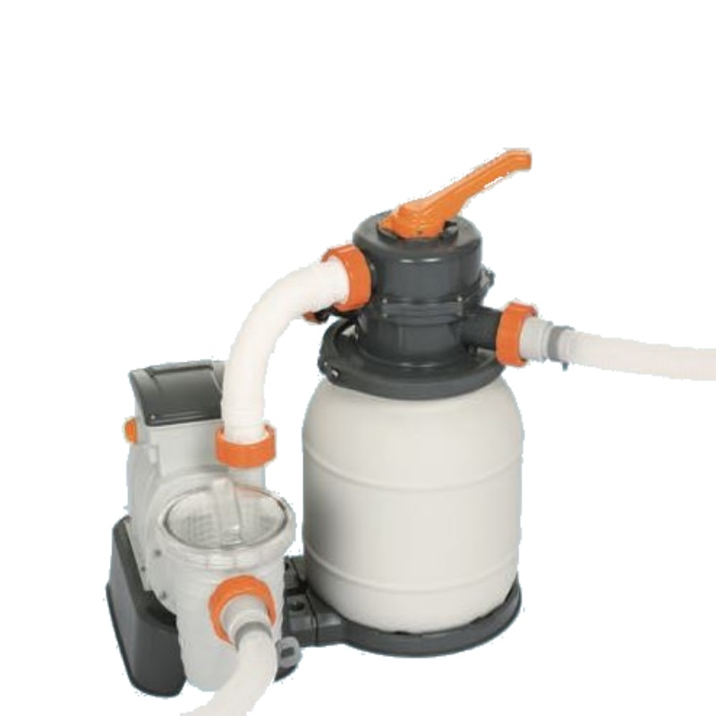 Cattura pompa filtro a sabbia per piscine bestway 58495