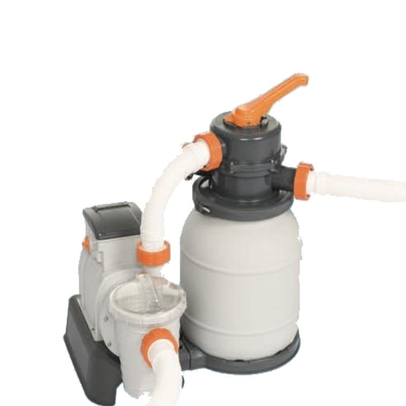 Cattura pompa filtro a sabbia per piscine bestway 58497