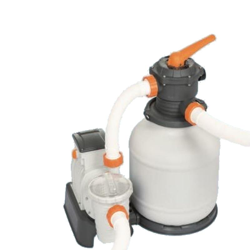 Cattura pompa filtro a sabbia per piscine bestway 58499