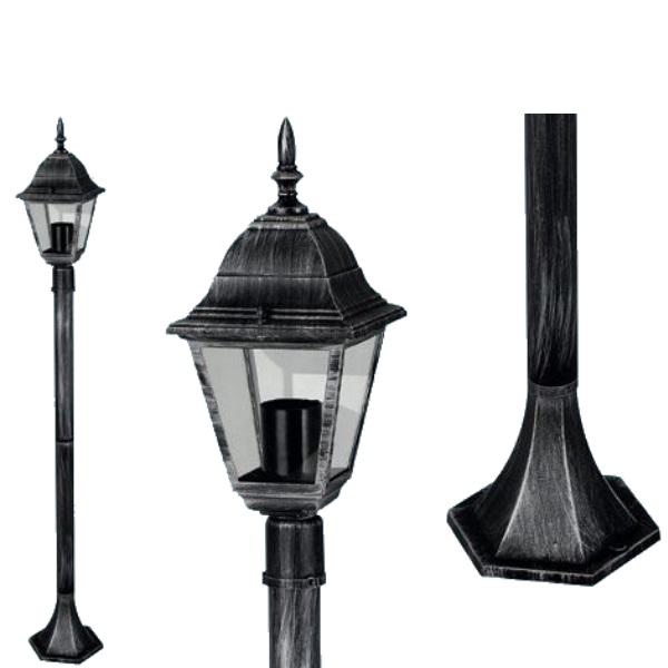"Lampione da esterno ""Arkadia"" 1 luce su Piantana"