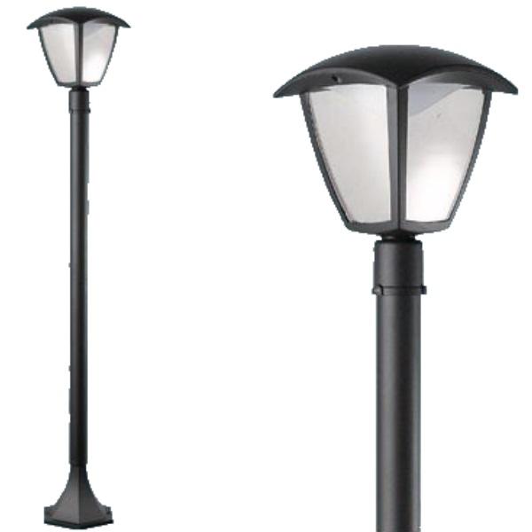 """Lampione a Led """"Selene"""" 1 luce su palo"""