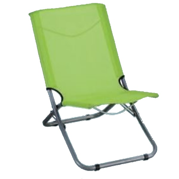 """Sedia da spiaggia """"spiaggina"""" colore verde"""