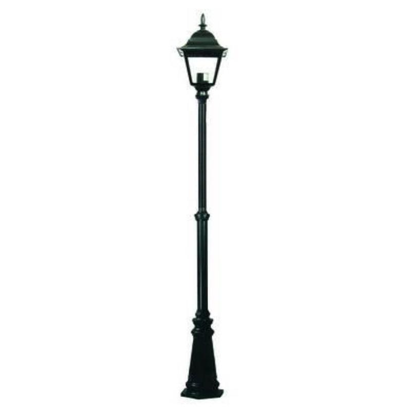 Lampione New York 1 luce su palo