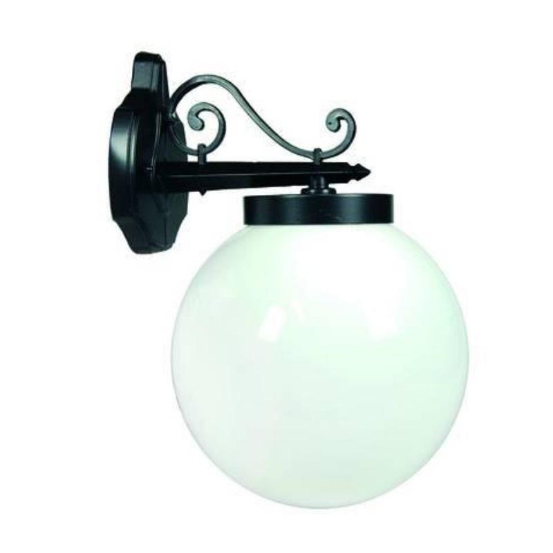 Lanterna a parete con braccio superiore Sfera