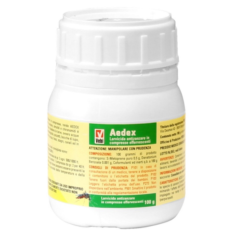 Larvicida Aedex Antizanzare
