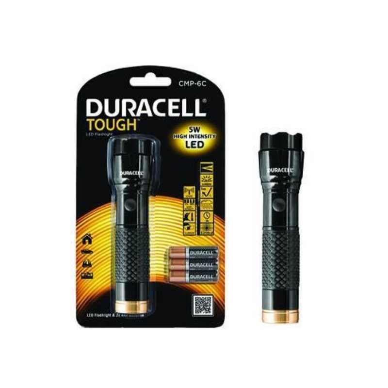 Torcia Led Tough Compact Pro CMP 6C DURACELL