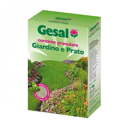 Concime granulare per giardino e prato kg.2 By Gesal
