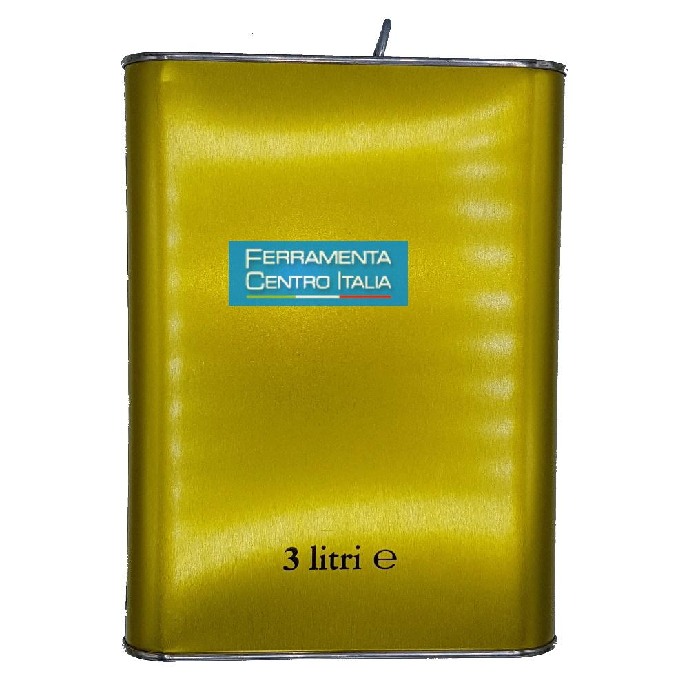 Lattina oro 3 litri Lisotti group