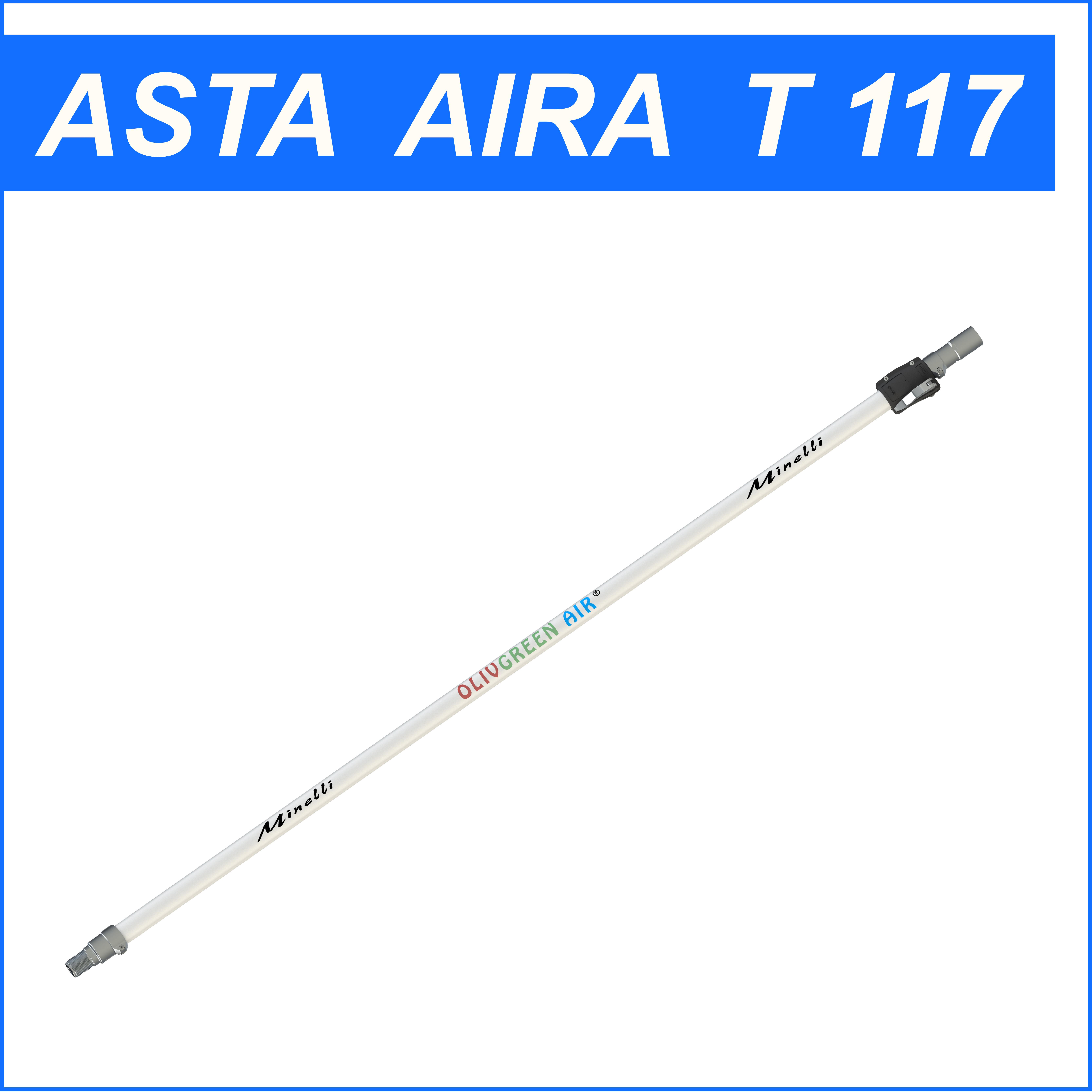 """Asta telescopica Minelli """"AIRA T 117"""""""