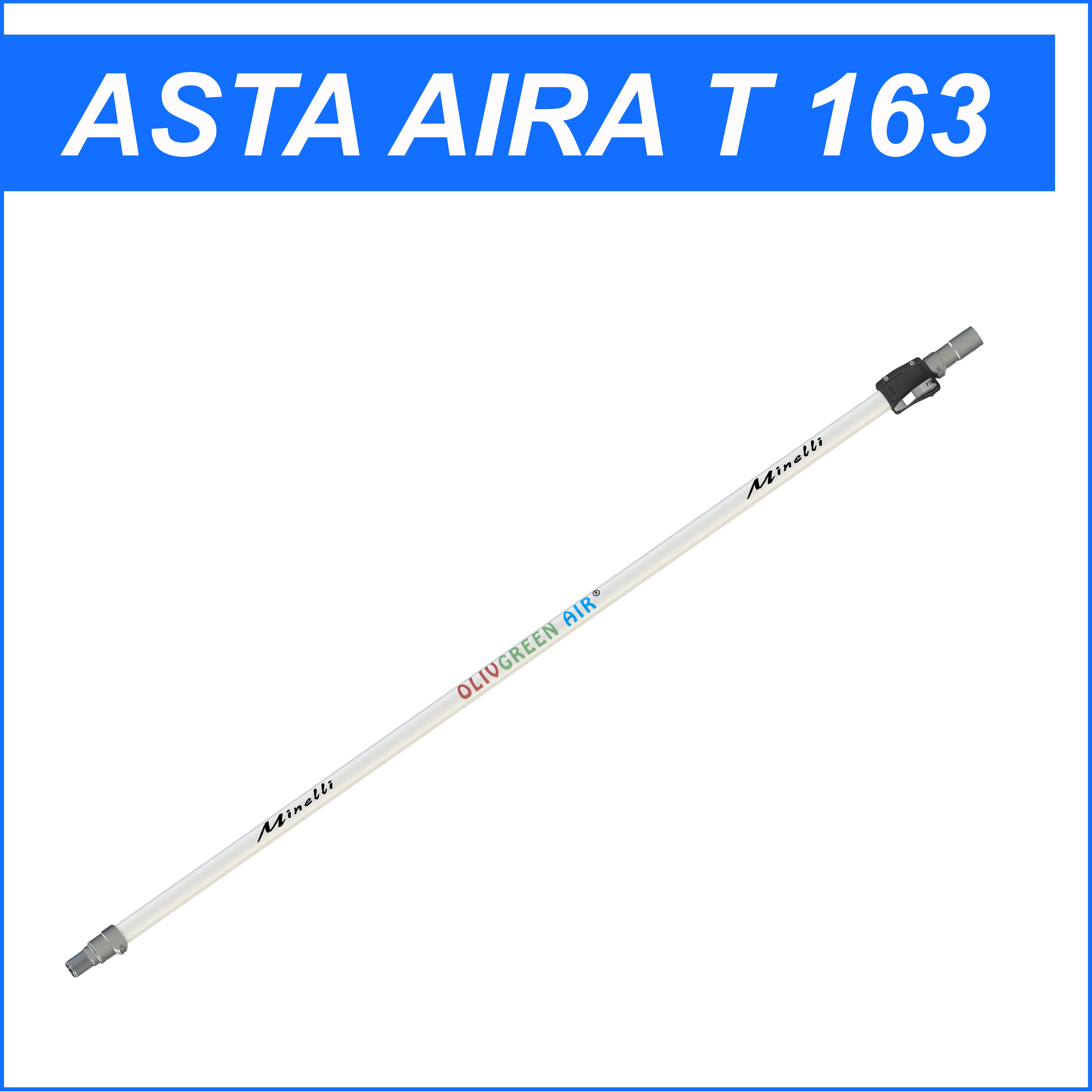 Asta telescopica Minelli AIRA T 163