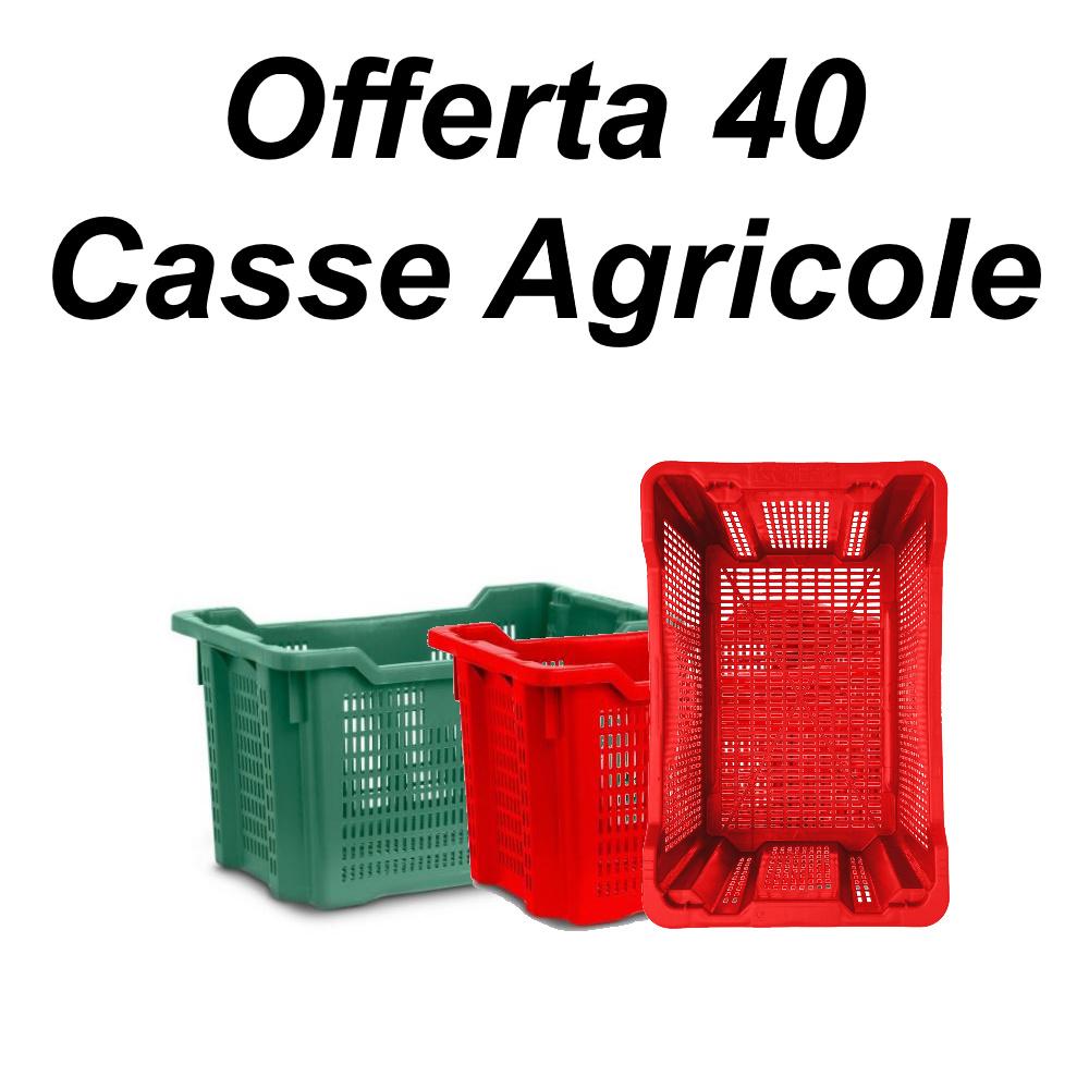 Cassette agricole mpr-plast 40