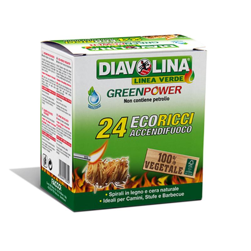 "Diavolina ecologica ""Eco ricci"" 24 spirali"
