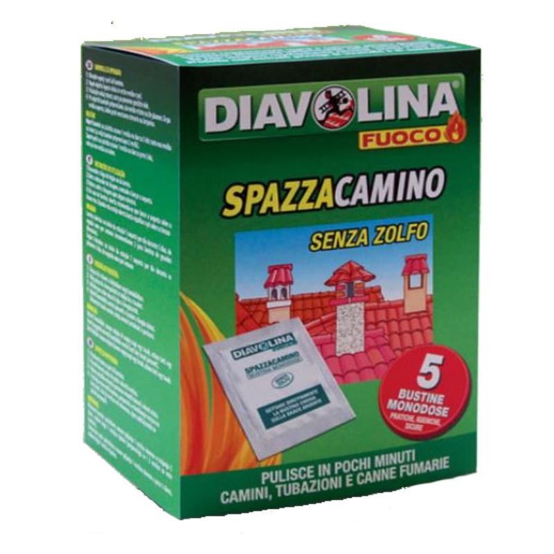 Diavolina spazzacamino in bustine - 5 Bustine da 50 gr.