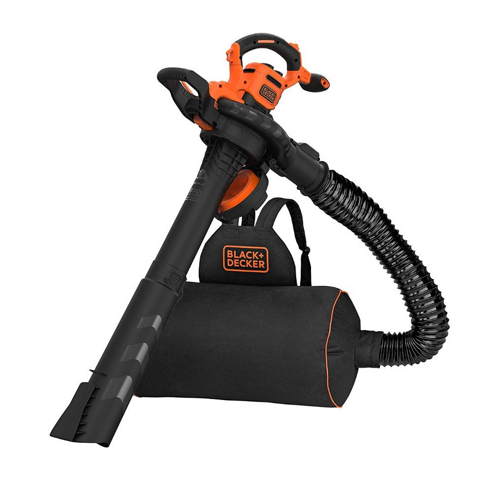 """Soffiatore aspiratore trituratore elettrico con zaino """"BEBLV300"""" B&D"""