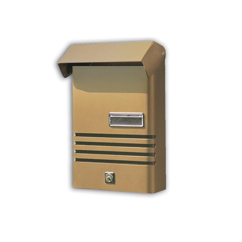 Cassetta Postale Alubox Alluminio Serie XER - Bronzo