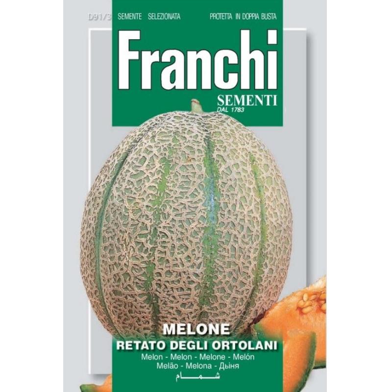 Melone retato degli ortolani fronte