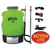 Pompa a spalla elettrica Iris Garden E-lite