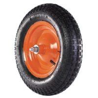 Ruota per carriola pneumatica con cuscinetto 350-80