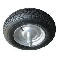 Ruota pneumatica per carriola con cuscinetto 350-80