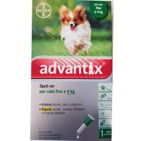 Bayer Advantix Spot On 0-4 KG. Cani
