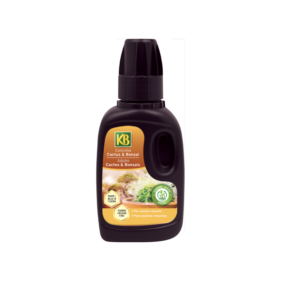 CONCIME LIQUIDO CACTUS E BONSAI KB 250 ML.