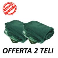 Telo olive light offerta 2 pezzi
