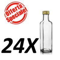 Bottiglia marasca Trasparente ml.500 -- OFFERTA 24 PEZZI