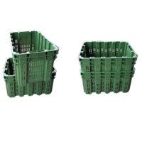 5 CASSETTE IN PLASTICA PER OLIVE E/O FRUTTA IMPILABILI E SOVRAPPONIBILI
