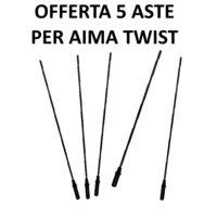 Asta ricambio abbacchiatore Twist Aima - Offerta 5 Aste