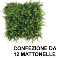 SIEPE FELCE 12 PEZZI -- DIMENSIONE UNA MATTONELLA -- CM.50X50